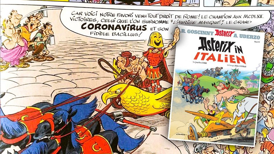 Asterix Und Coronavirus