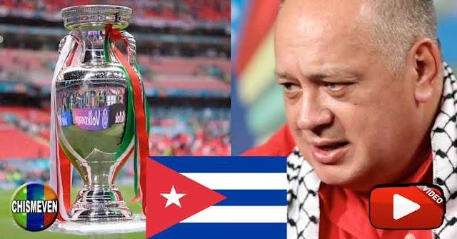 🚩🚩🚩 FUENTE : DIOSDADO   ⚽ Continúan las celebraciones de la Eurocopa 2020 en Cuba ⚽ 🚩🚩🚩