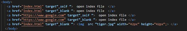 تنسيق الروابط فى صفحات الويب بلغة html