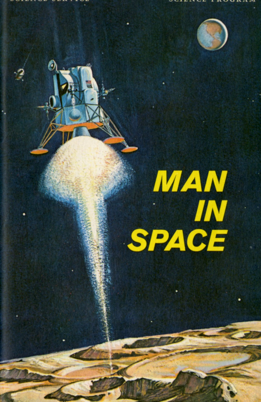 Dreams Of Space Books And Ephemera Man In Space How Man Will Get To The Moon And Back Again