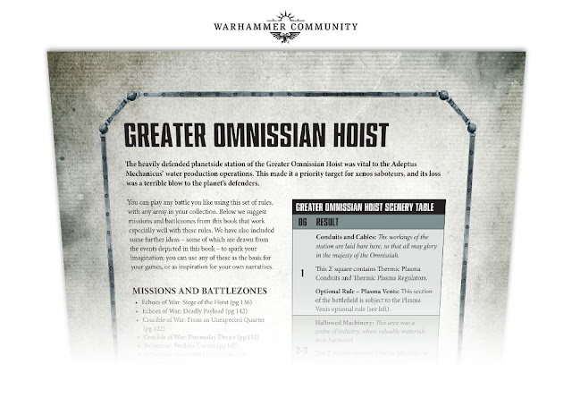 Greater Omnissiah Hoist