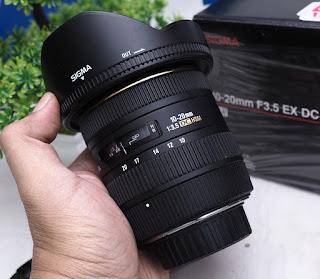 Sigma 10-20mm f3.5  for  DC HSM Nikon