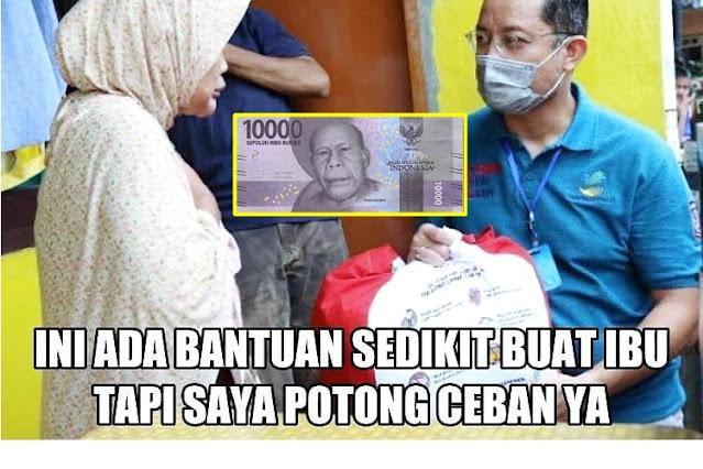 Astagfirullah! Jika Tiap Bansos Dipalak Rp10 ribu, Total Korupsi Mensos Bisa Segini