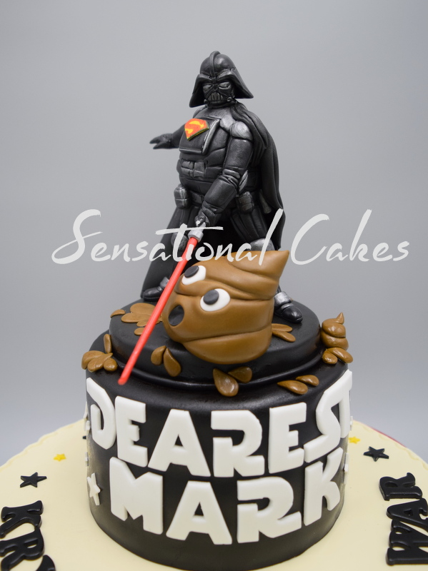 The Sensational Cakes Nice shitty cake from Star wars awesome