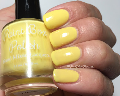 Paint Box Polish, Ciao, Gelato! collection, Spring 2016; Ananas