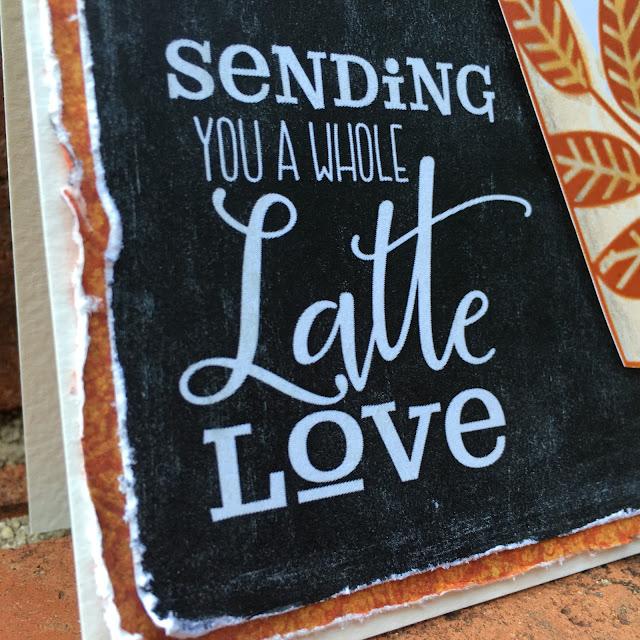 SewPaperPaint: Chalkboard Printable Pumpkin Latte Card