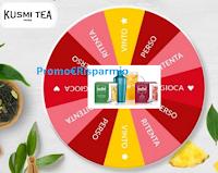 Logo Game Time Kusmi Tea: gira la ruota e vinci gratis regali per tutta l'estate