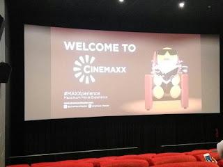 layar bioskop cinemaxx plaza renon