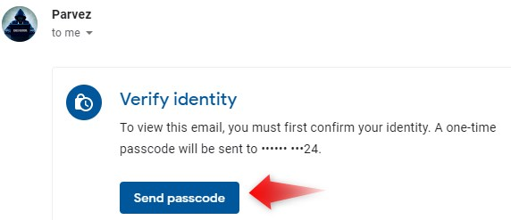 password lock email bheje