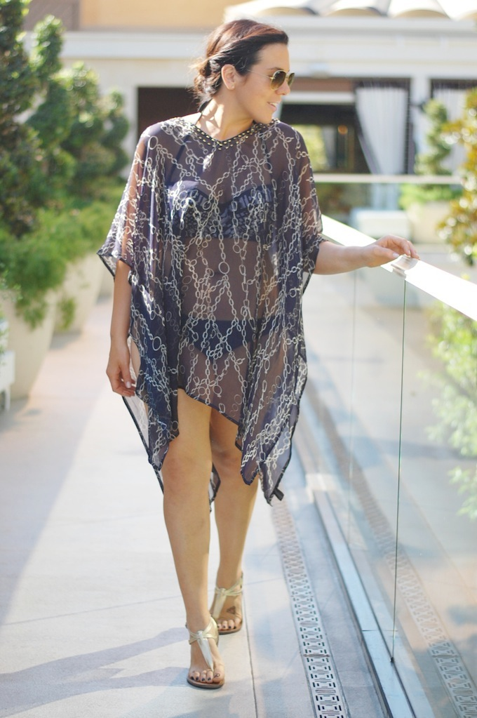 Pia Rossini beach coverup Brunette Showroom Las Vegas