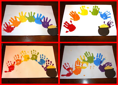 Welcome Baby Playgroup Craft St Patrick S Day Rainbow