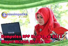 RPP  Aqidah Akhlak Jenjang MI