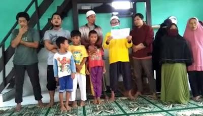 Warga Tolak Berdirinya Tentara Allah di Bandung