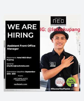 Lowongan Kerja Hotel Neo Eltari Kupang Sebagai Assistant Front Office Manager