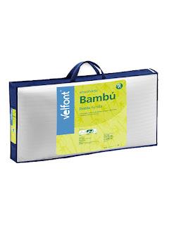 Almohada de fibra BAMBÚ de Velfont.
