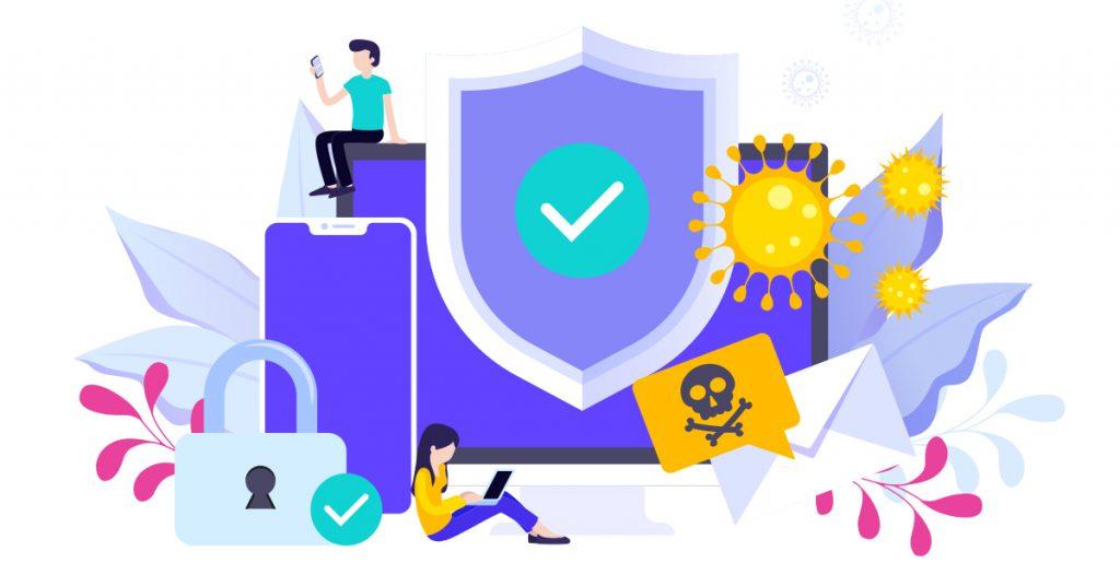 اليكم افضل مكافحات الفيروسات على الانترنت 2021