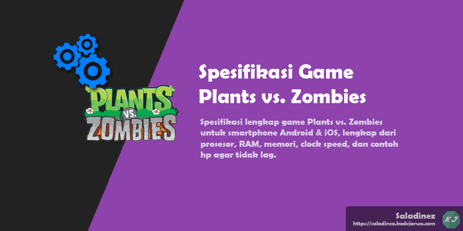Spesifikasi Game: Plants vs. Zombies Android & iOS