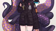 Ninomae Ina'nis - Anime Octopus Girl mobile wallpaper