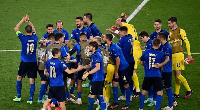Italy lost to Switzerland in the second round