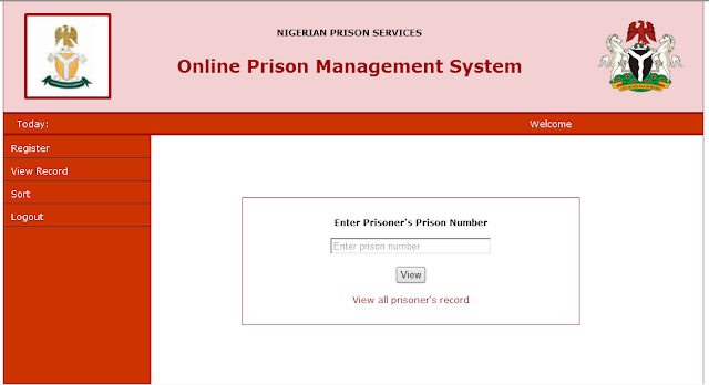 ONLINE PRISON MANAGEMENT SYSTEM PHP SOURCE CODE