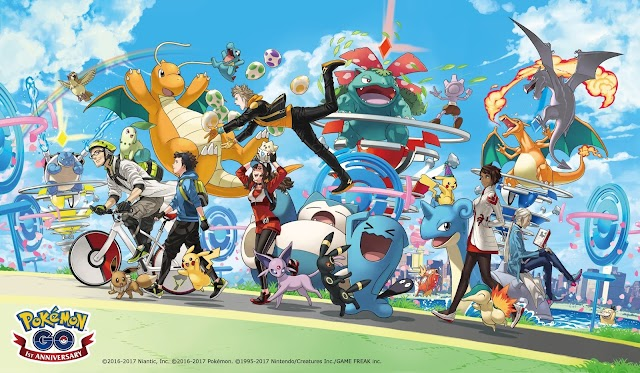Pokemon GO event details the third anniversary and announcement date