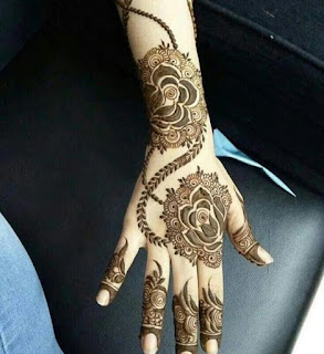 50+ Most Simple latest Mehendi Design Collection