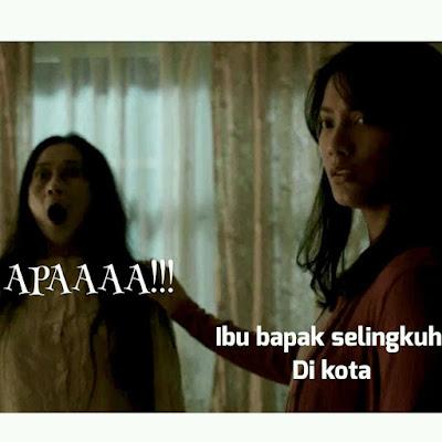 14 Meme Film Pengabdi Setan 'Ibu Sampe Kaget' Ini Kocak Banget, Hilang Sudah Horornya!