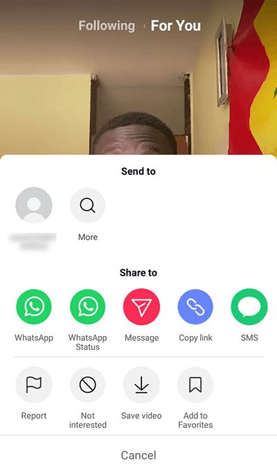 Cara Mengirim Pesan Video di TikTok