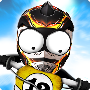 Stickman Downhill - Motocross Mod Apk Unlocked Terbaru