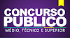 Concurso no Estado do PR aberto para Médio, Técnico e Superior! R$ 9.644,29,