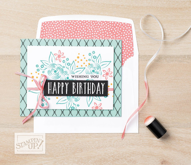 Perennial Birthday Stampin Up Paper Daisy Crafting