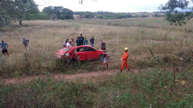 """Vereador Cleiton de """"Xôxo"""" de Piranhas sofre grave acidente na AL-220 no município de Piranhas"""