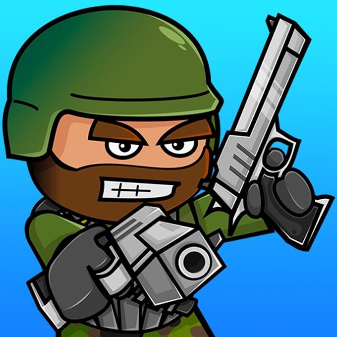 Doodle Army 2 : Mini Militia v5.1.0 Apk Mod [Unlocked Pro]