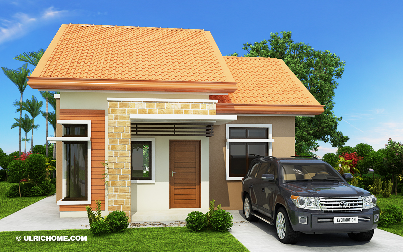 Don't you know that smaller house are not just cute on the outside but it can be functional and practical on the inside? What's important is it can provide the basic needs of the family — bedroom, toilet and bath, kitchen or dining area and the living room!    Here are five small beautiful house design that will make you reconsider your dream house. Layout included.