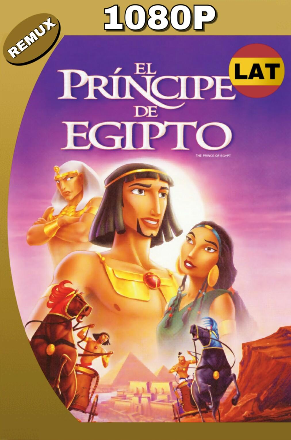 EL PRINCIPE DE EGIPTO (1998) BDREMUX 1080P LATINO-INGLES