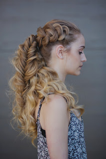 hairstyle VIKING BRAIDS