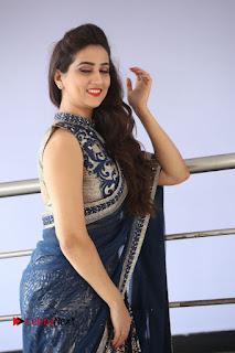 Actress Manjusha Pictures in Saree at Srirastu Subhamastu Song Launch  0124.JPG
