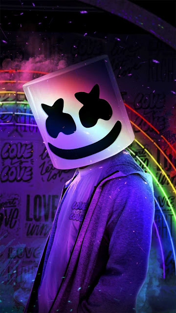 17 Mask, Colored Smoke, Anonymous, Neon, Hoodie, Wallpapers HD 4K for Android and iPhone