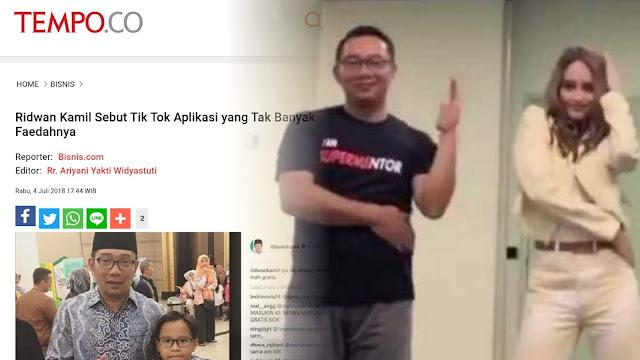 Gerindra: Dulu Bilang Tidak Berguna, Sekarang Ridwan Kamil Malah Main TikTok Saat Jabar Banjir