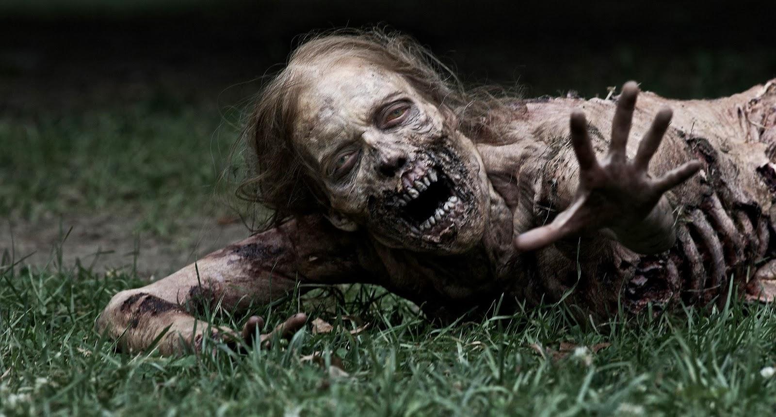 Zombie Animasi Bergerak Lucu X