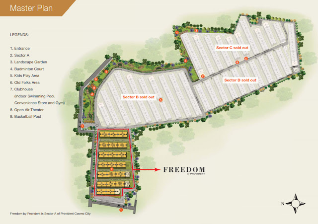 Provident Freedom Location  Map