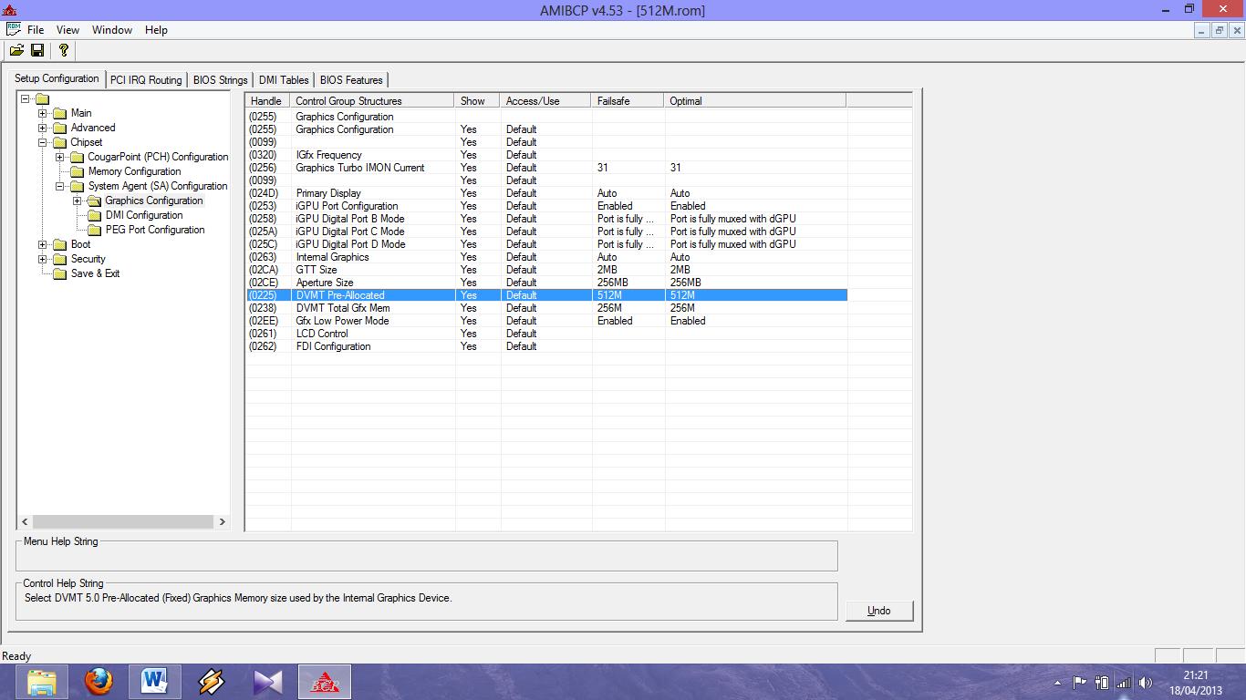 Mawin : Cara Upgrade VRAM Asus A43E