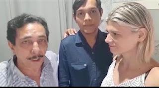 Ex-prefeito de Sapé Zé Feliciano comemora liberdade do cabeleireiro Netinho