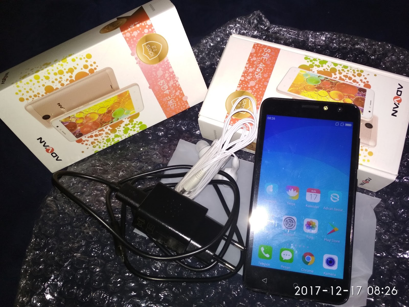 Review 3 Hari Pemakaian Android Advan S5E 4G LTE