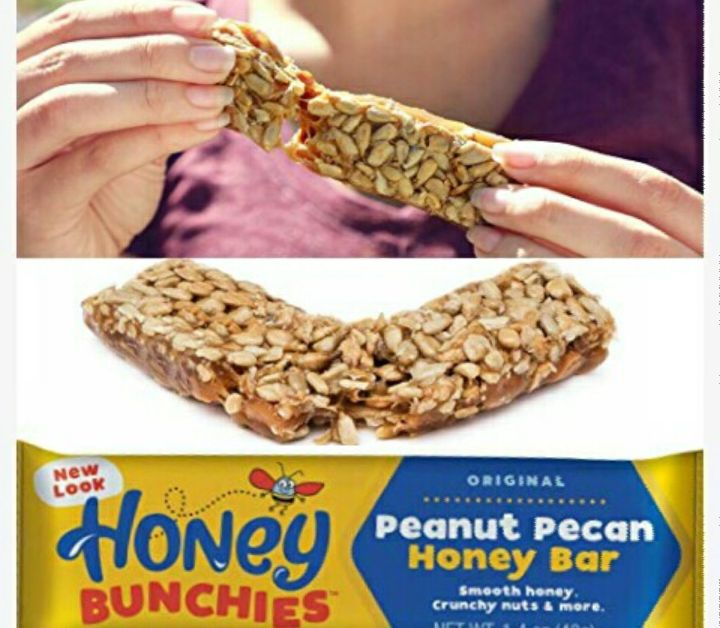 Pure Honey Peanut Snack - Nutritious Pecan Bar - Grocery Gift Items