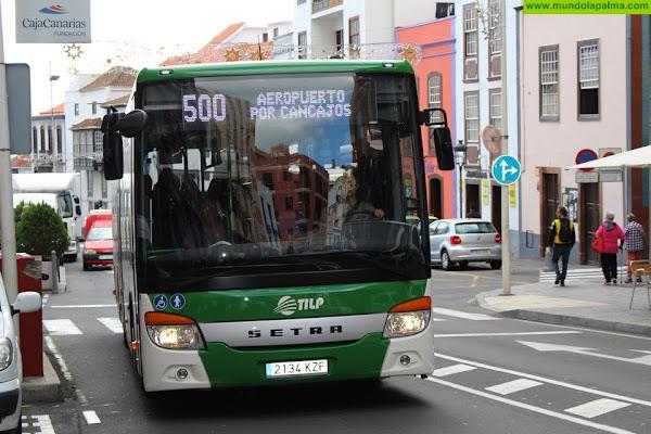El Cabildo renueva los bonos de transporte para residentes canarios desempleados y especiales