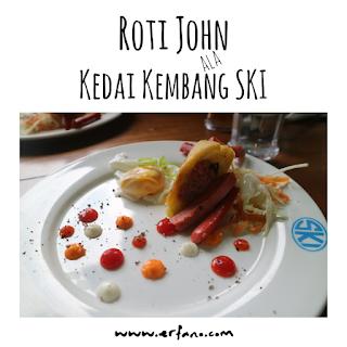 Roti John ala Kedai Kemang SKI Bogor