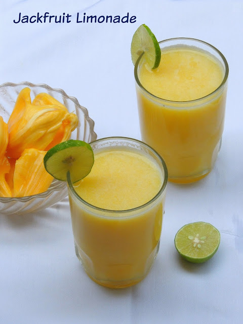 Jackfruit Limonade, Summer Cooler Jackfruit limonade