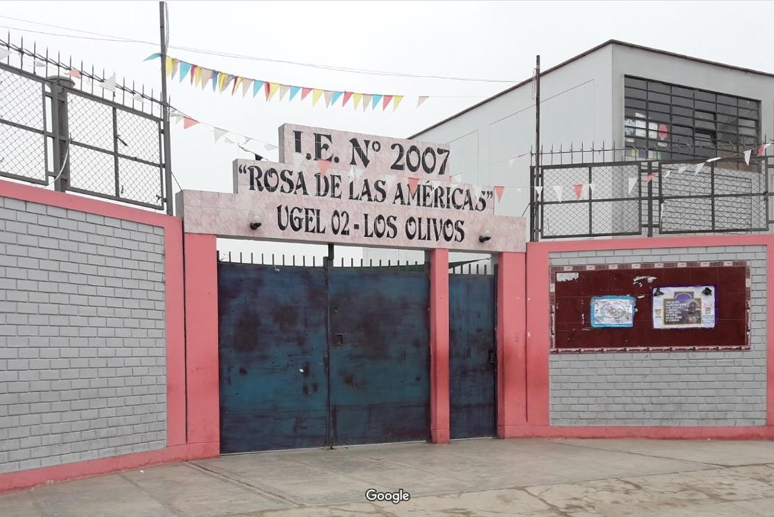 Escuela 2007 ROSA DE LAS AMERICAS - Los Olivos