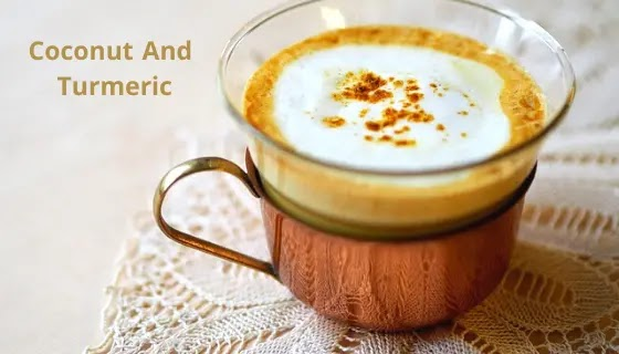 Coconut And Turmeric Anti-Ageing Drink